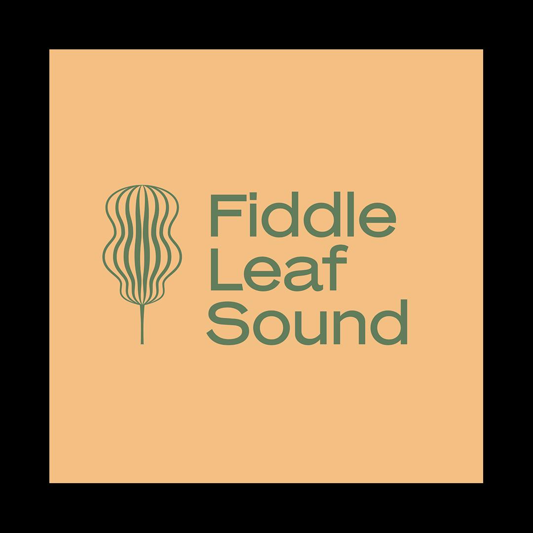 Fiddle leaf sound logo