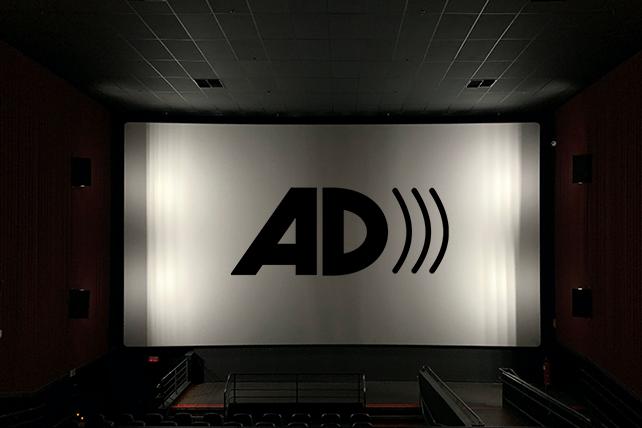 Audio Description Services on a film stage.