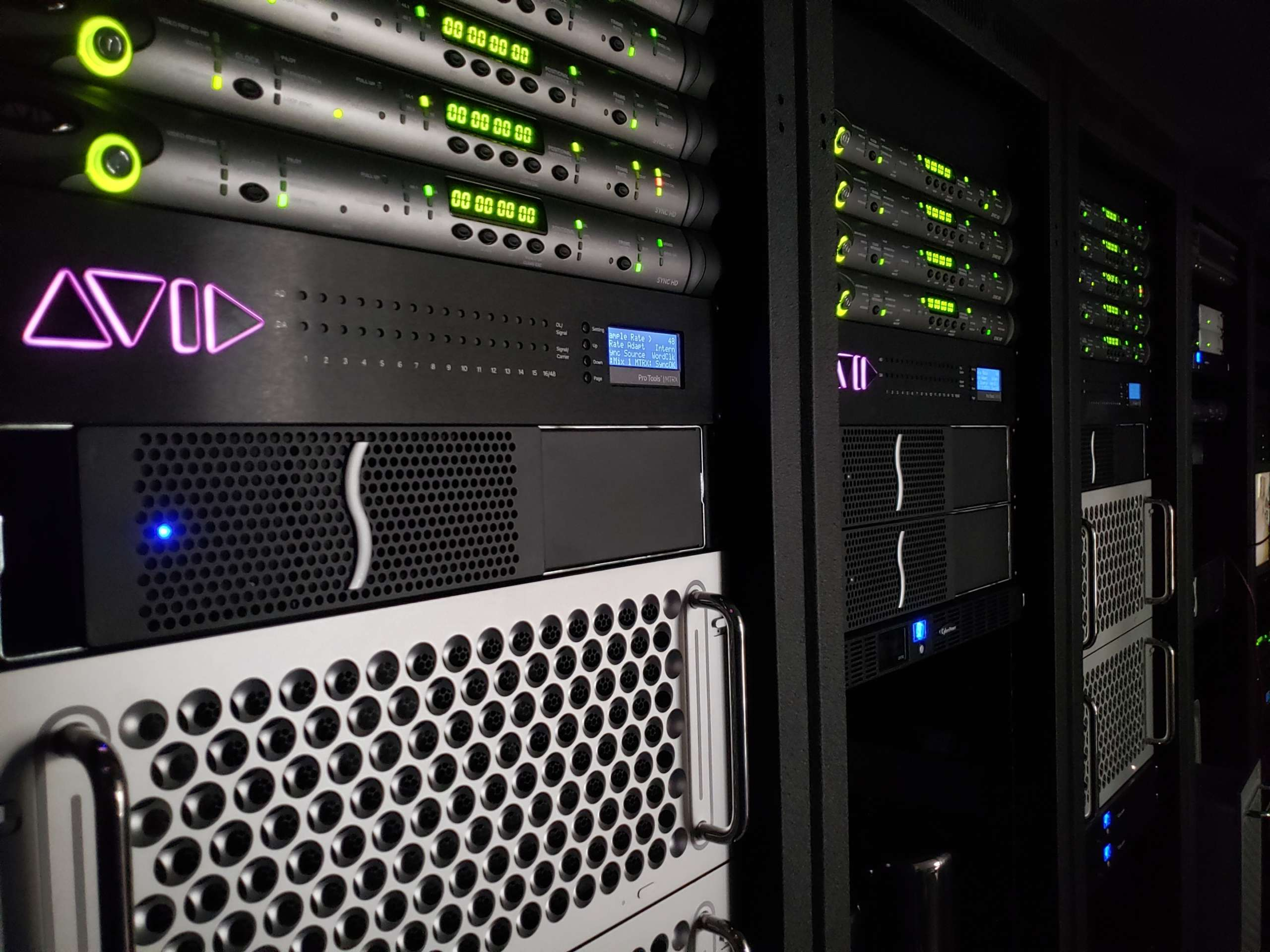 Media Processing Servers at SPG Studio