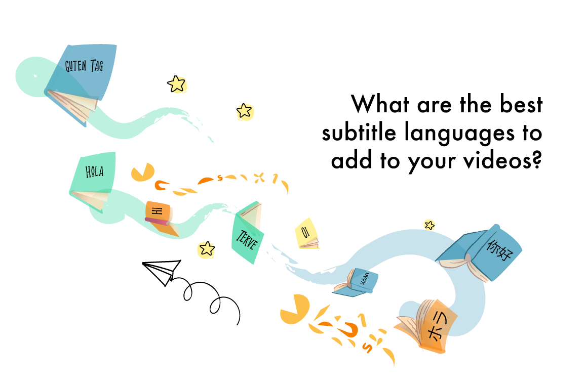 What are the best subtitle languages to add to your videos?