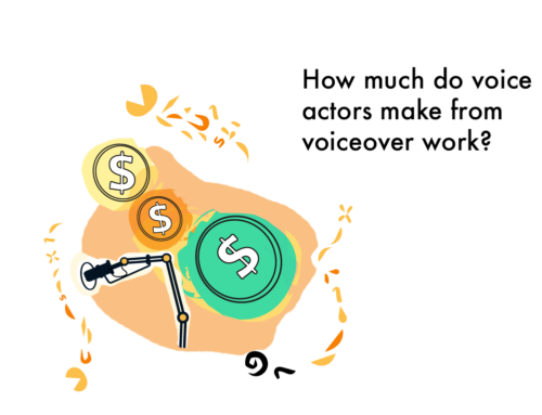 How much do voice actors make with voiceover work?