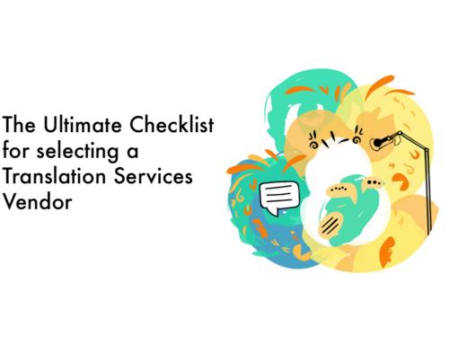 Localization and Language Services Checklist