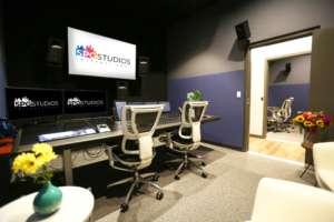audio post sound mixing stage